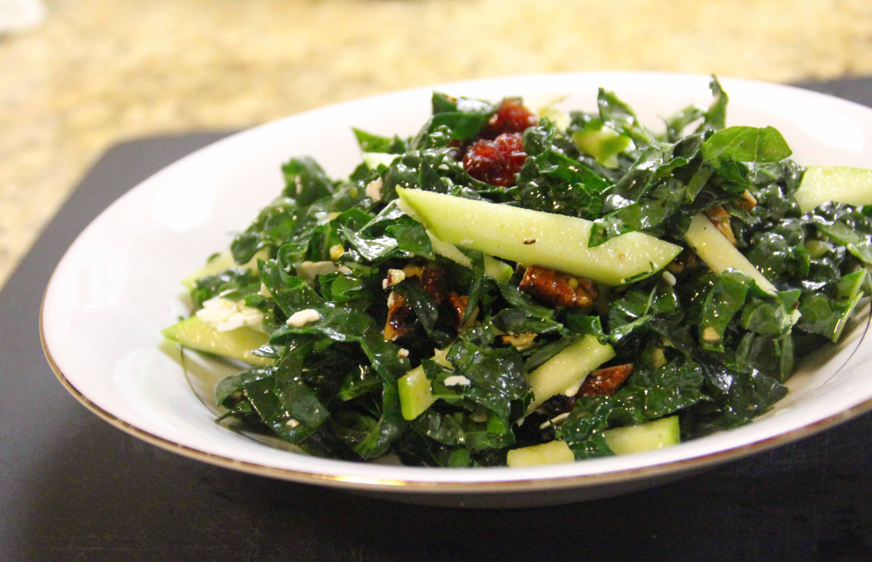 kale salad close up 1