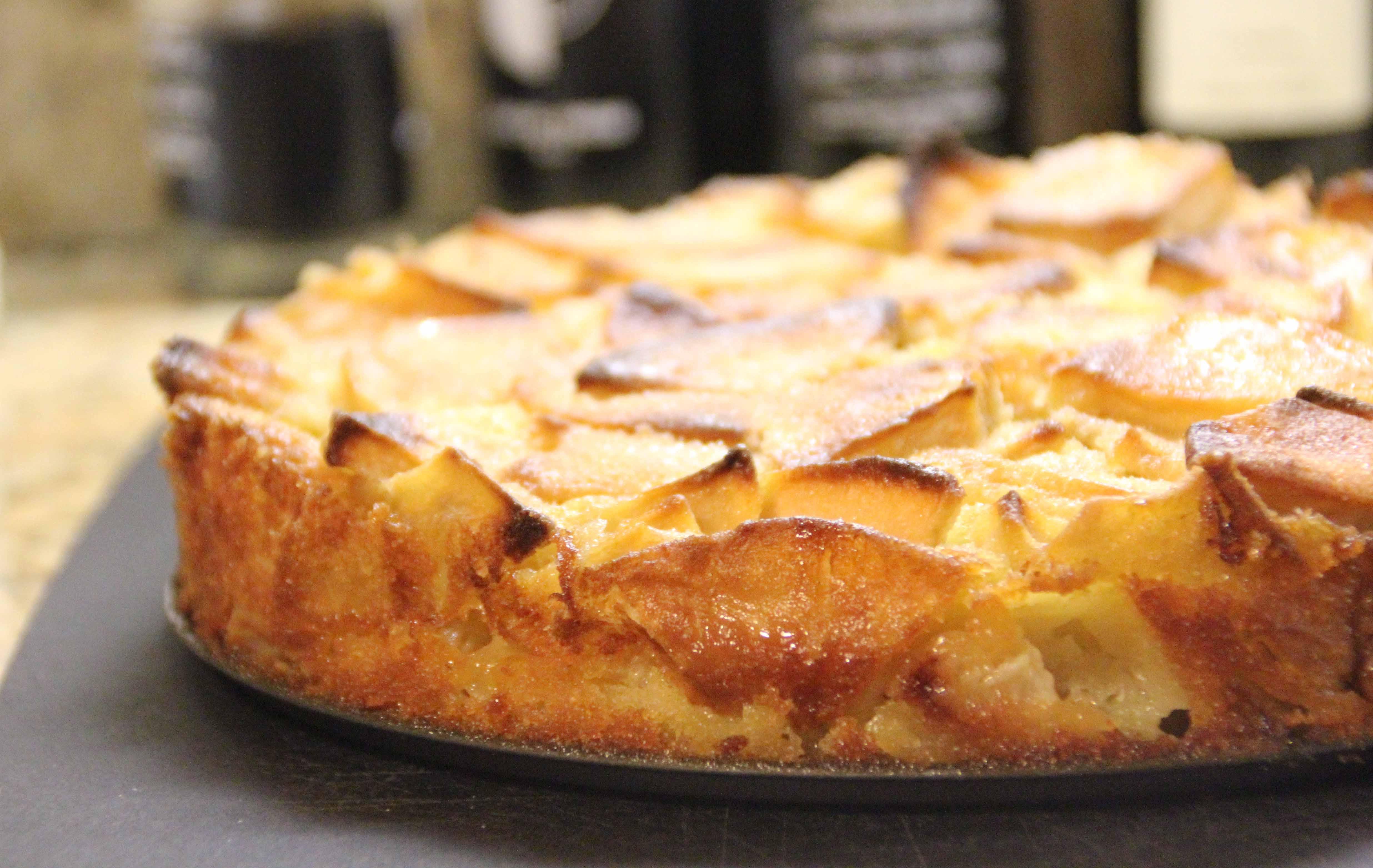 Ricotta Apple Coffee Cake