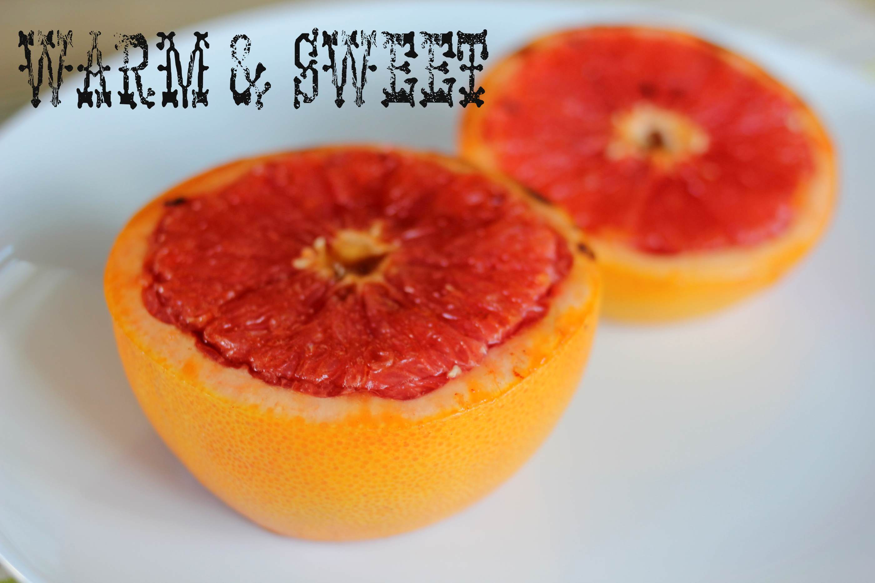 fancy for a friday: grapefruit brulee | E A T & R E L I S H