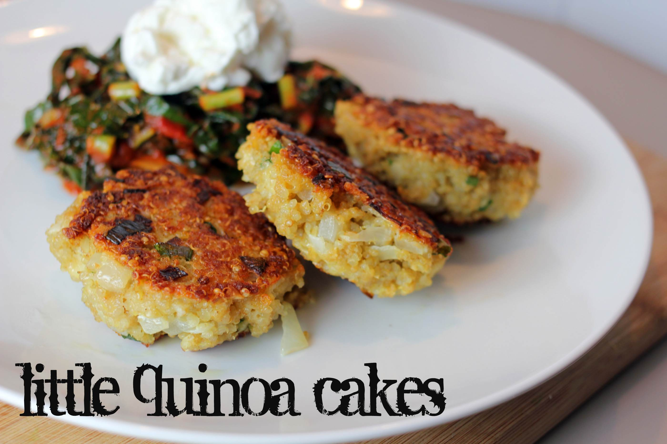 Little Quinoa Patties Recipe — Dishmaps