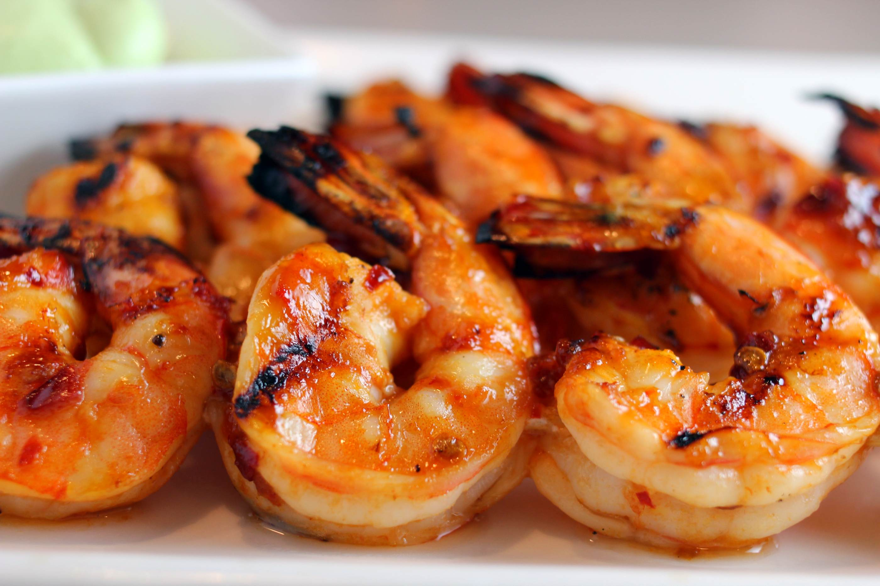 Spicy Grilled Shrimp Recipe Honey chipotle grilled shrimp