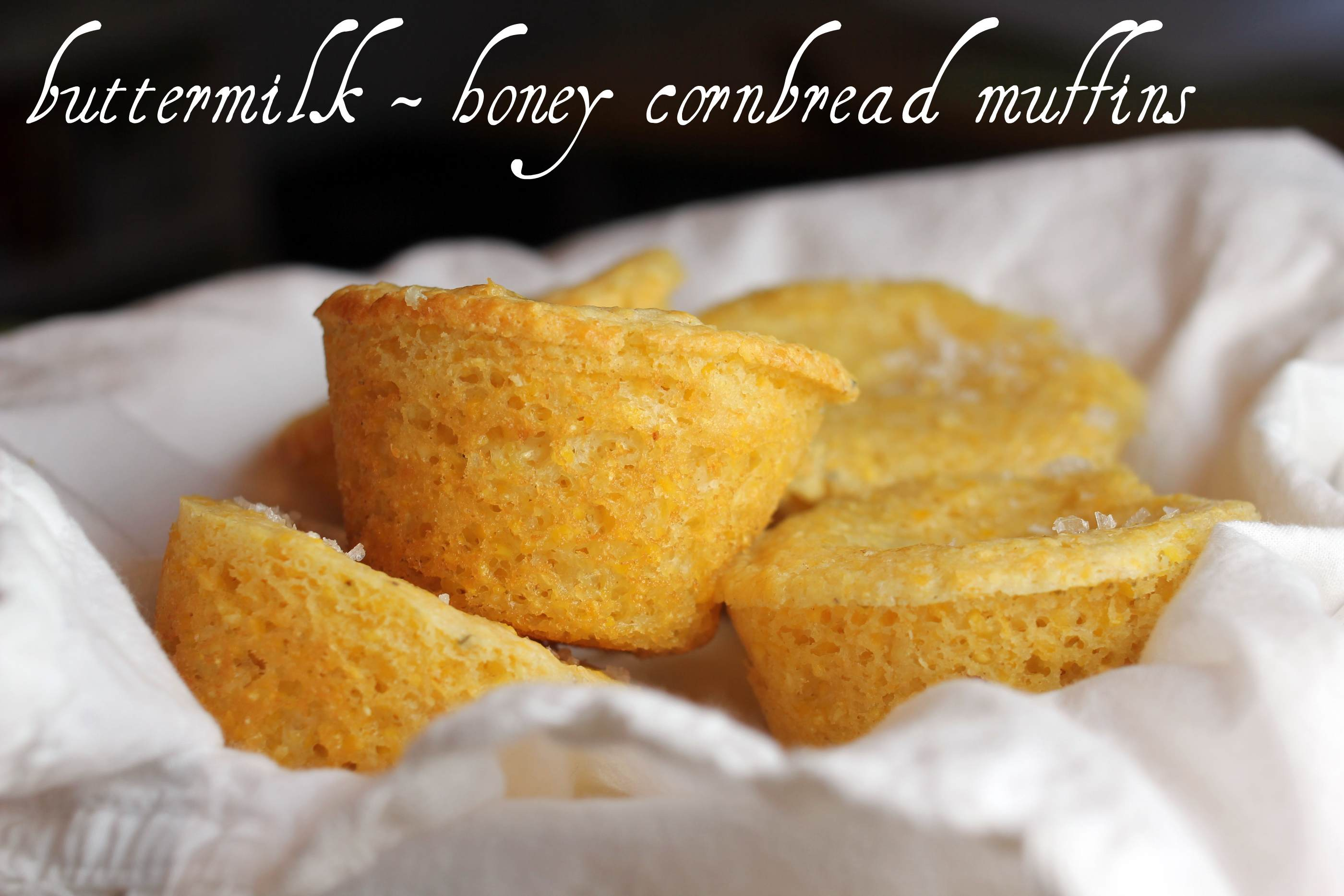 buttermilk – honey cornbread muffins | E A T & R E L I S H