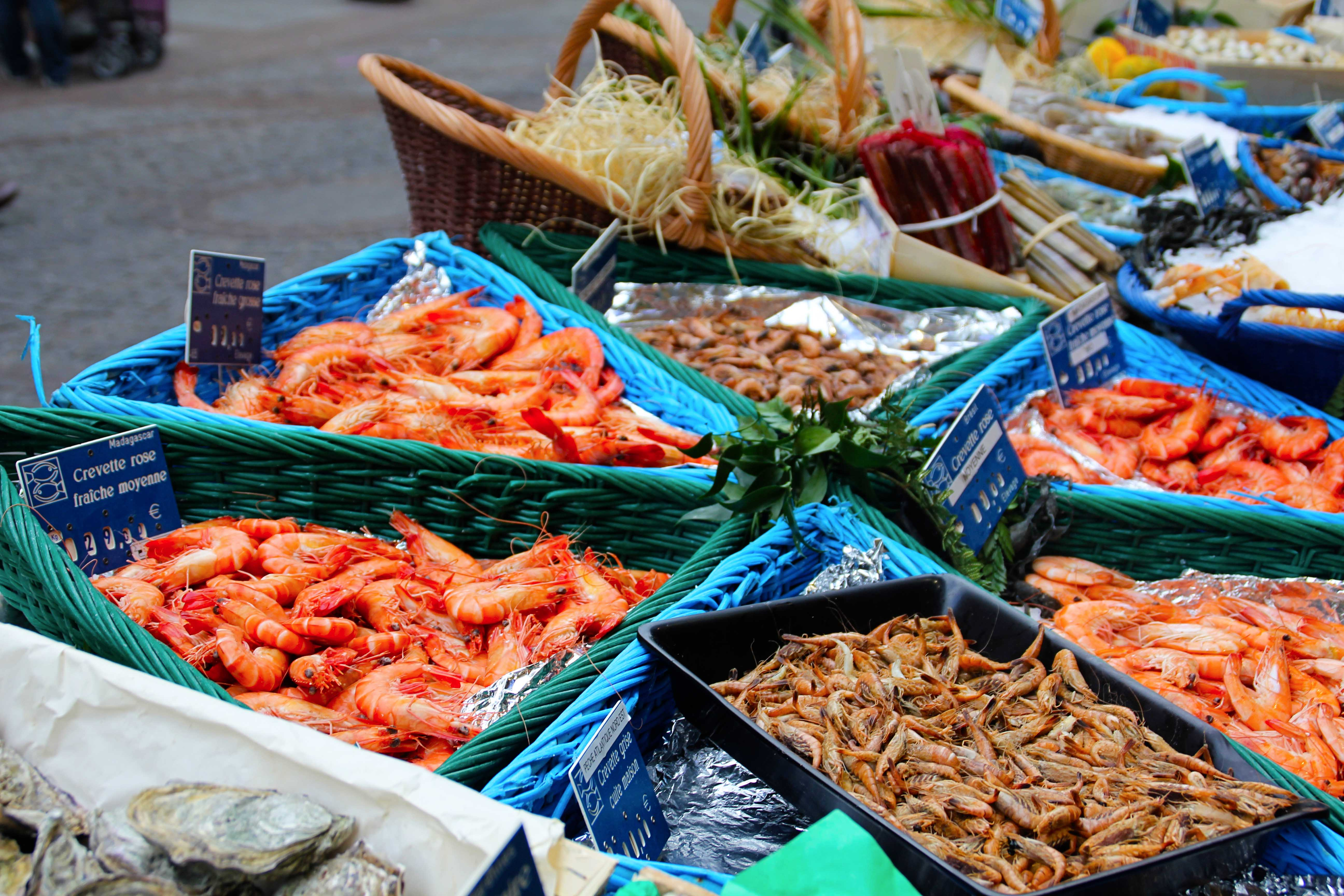 Fish Markets In Paris Tn