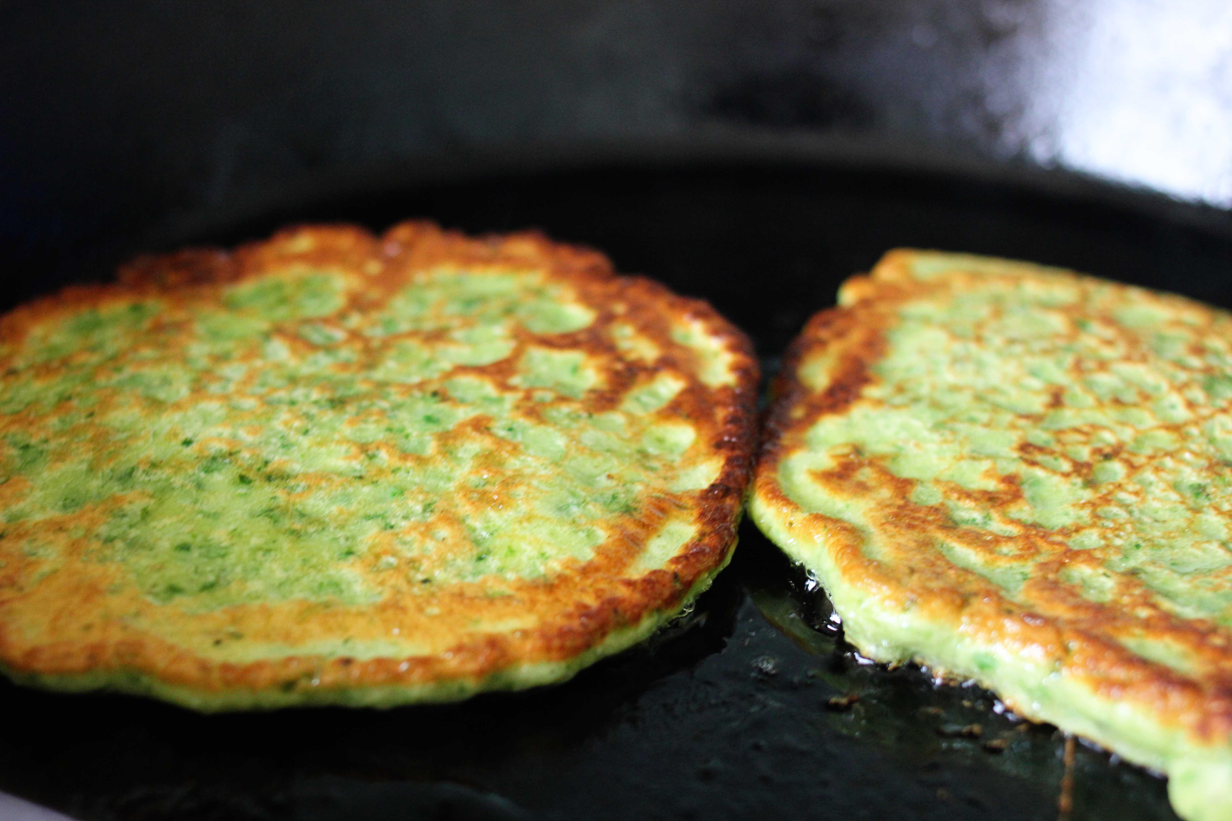 green success: swiss chard pancakes (farçous) with spiced dijon ...
