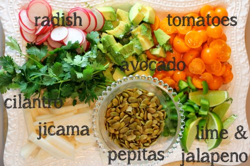 black bean bowl toppings