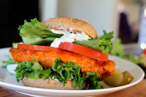 buffalo chicken sandwich 2