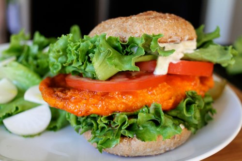 buffalo chicken sandwich 4