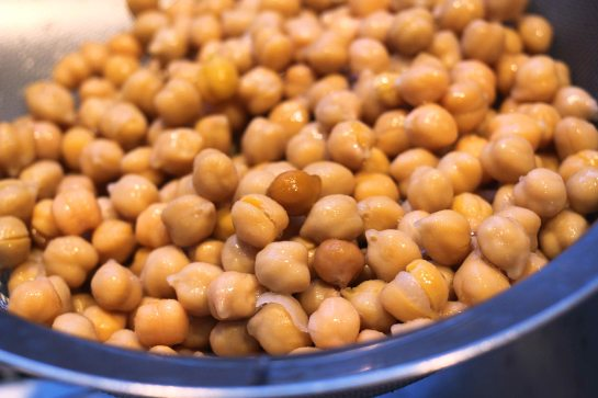chickpea 'tabbouleh' whole chickpeas