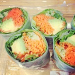 salad rolls to repent for a big weekend