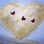 heart hand pie experimentations