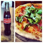mexican coke + pizza: only way to cure a hangover
