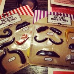 it's a moustache party!