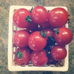 the most amazing cherry tomatoes