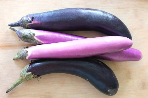 chinese eggplant from the farmers market