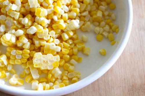 fresh summer corn right off the cob