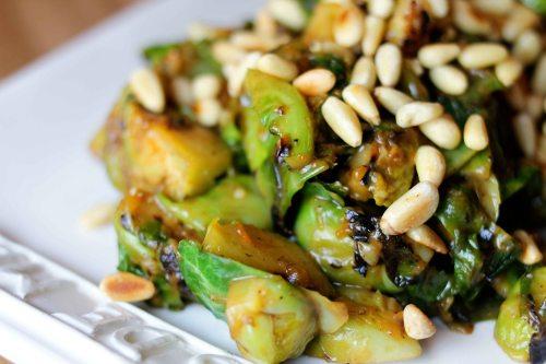 pine nuts add crunch