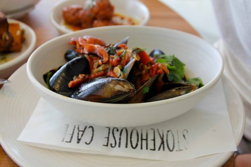 stokehouse - delicious mussels