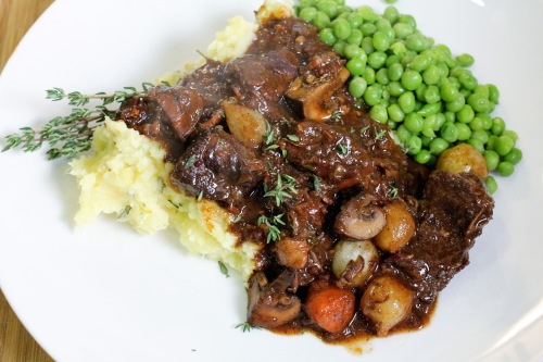 boeuf bourguignon - perfect fall comfort food