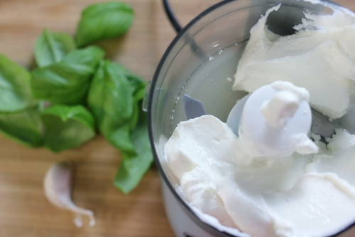 greek yogurt honey herb sauce - greek yogurt